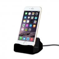 iPhone docking station zwart