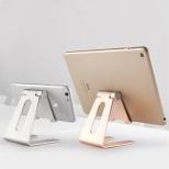 Verstelbare aluminium tablet standaard zwart