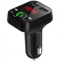 FM Transmitter bluetooth, USB, micro SD en dubbele oplader