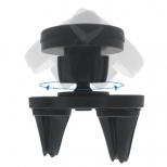 Telefoonhouder ventilatie met dubbele klem magnetisch