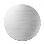 Rond metalen plaatje voor magnetische houder